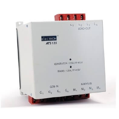 Buy Electron 125A 3 Phase 4 Pole FP Auto Transfer Switch (ATS) ATS 125 Online