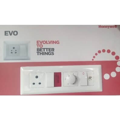 Buy Honeywell MK EVO 6AX One Way Switch 1M White EW501WHI Online