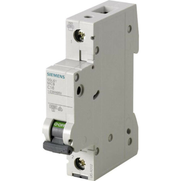 Buy Siemens Betagard MCB 1 Pole SP 0.5A 'C' 5SL61057RC Online