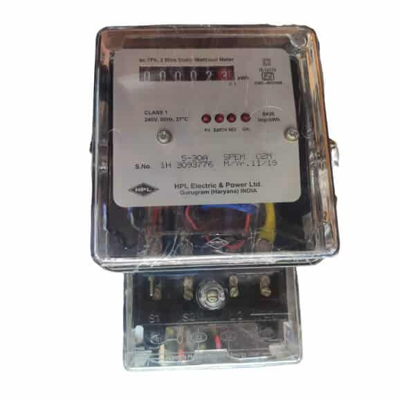 Buy HPL Single Phase Meter KWH 5-30A Counter type 220 Volts Polycarbonate Body Online
