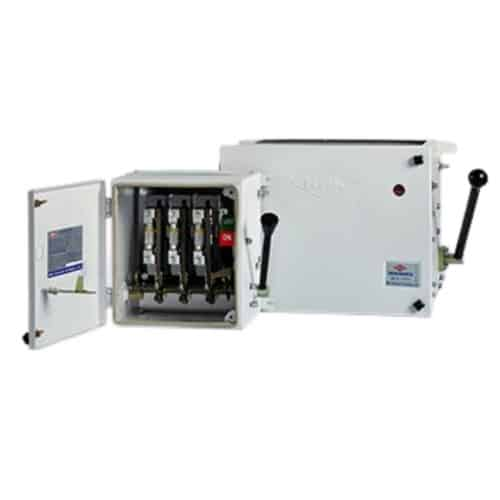Buy HPL 400A Fuse Switch Unit (Main Switch) TPN with HRC Fuse 415V TSMS-S FSSFHR4TPN400 Online