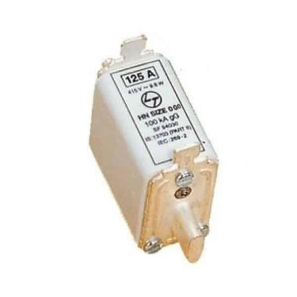 Buy L&T Switchgear 100A HRC Fuse Link DIN 100kA Type Size 000 SF94942 Online
