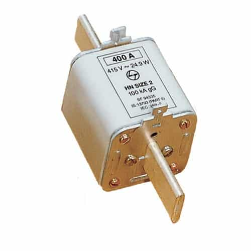 Buy L&T Switchgear 315A HRC Fuse Link DIN 100kA Type Size 2 SF94334 Online