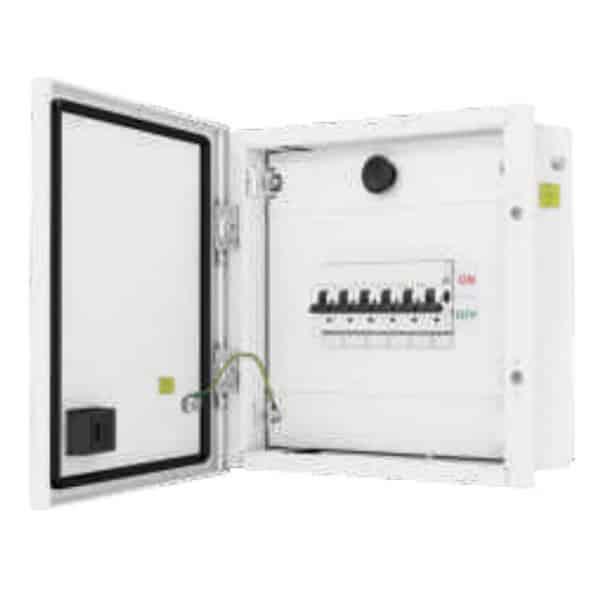 Buy L&T Switchgear Exora 12 Way SPN DB IP 43 - Double Door Metal 12M DBSPN012DD Online