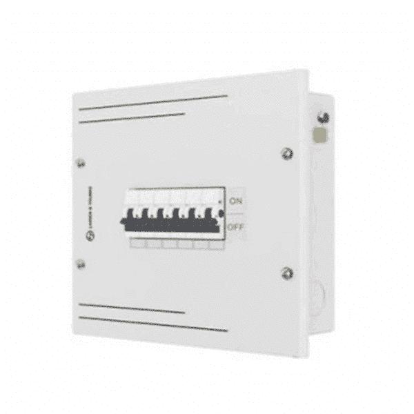 Buy L&T Switchgear Exora 18 Way SPN DB IP 30 - Single Door 18M DBSPN018SD Online