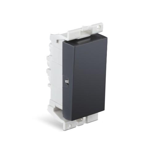Buy Honeywell MK Blenze Plus 6AX One Way Switch 1M Elephant Black DW501BLK Online
