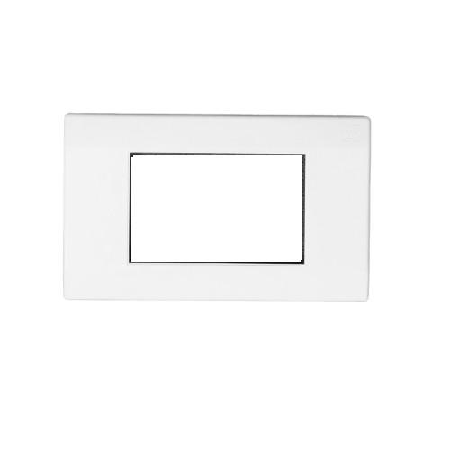 Buy Honeywell MK Wraparound Plus 4 Module Front Plate - White 4M S26004 Online