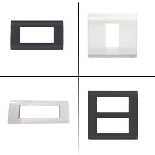 Buy honeywell mk blenze plus modular plate cover + frame online