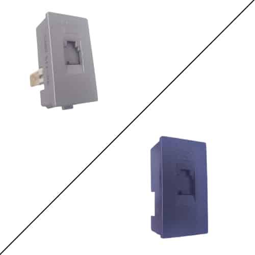 Buy siemens delta vega rj-11 telephone socket cat-3 1m online