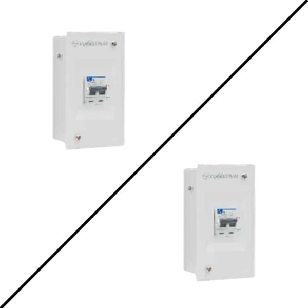 Buy l&t switchgear tripbox plus metal box enclosure online