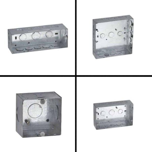 Buy schneider electric modular concealed gi metal boxes online