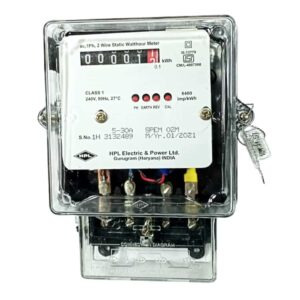 HPL 5-30A 1 Phase kWh Sub Meter Counter Front View