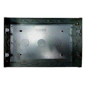 Schneider Electric 8M (S) Metal GI Flush Mounting Box MR1109